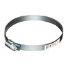  4-in dia. x 4-in L Galvanized Full Clamp