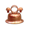 Cambridge Resources -Pack 1/2-in - 1/2-in Dia Copper Plated Steel Bell Hangers