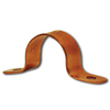 Cambridge Resources 5-Pack 1-in - 1-in Dia Copper Plated Steel 2-Hole Pipe Straps