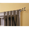 Style Selections 28-in to 48-in Antique Brass Single Curtain Rod