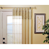 Style Selections 48-in to 84-in Antique Brass Single Curtain Rod