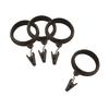 allen + roth 7-Pack Dark-Brass Clip Rings