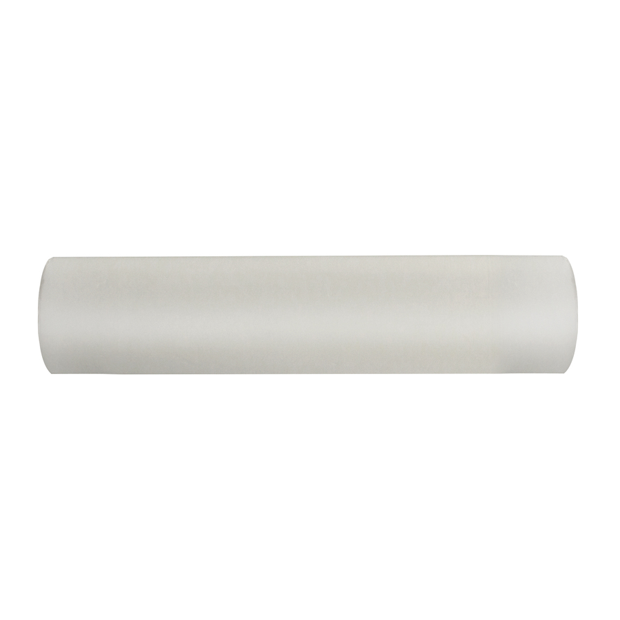 shop allen roth 96 in white wood curtain rod only at