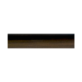 allen + roth Mahogany Wood Single Curtain Rod