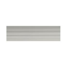allen + roth White Wood Single Curtain Rod