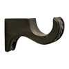 allen + roth 2-Pack Venetian Gold Wood Curtain Rod Brackets