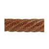 allen + roth 96-in Tortoise Wood Curtain Rod