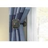allen + roth 2-Pack Aged Bronze Curtain Holdbacks