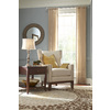 allen + roth 72-In to 144-In Brushed-Nickel Contemporary Metal Single Curtain Rod