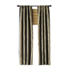 allen + roth 36-in to 72-in Black Single Curtain Rod