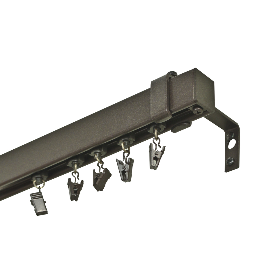 selections 48 in to 84 in metal traverse curtain rod at