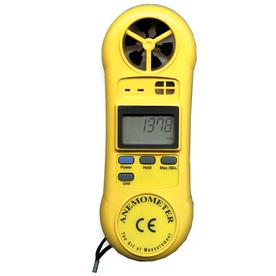General Tools & Instruments Digital Mini Airflow Meter with Temperature