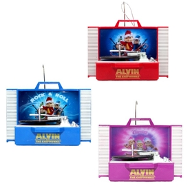 Alvin and The Chipmunks Multicolored Musical Ornament