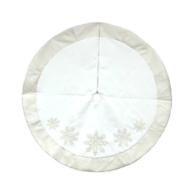 allen + roth 56-in Christmas Tree Skirt