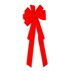 Holiday Living Classic Velvet Fleck Deluxe Decorative Bow