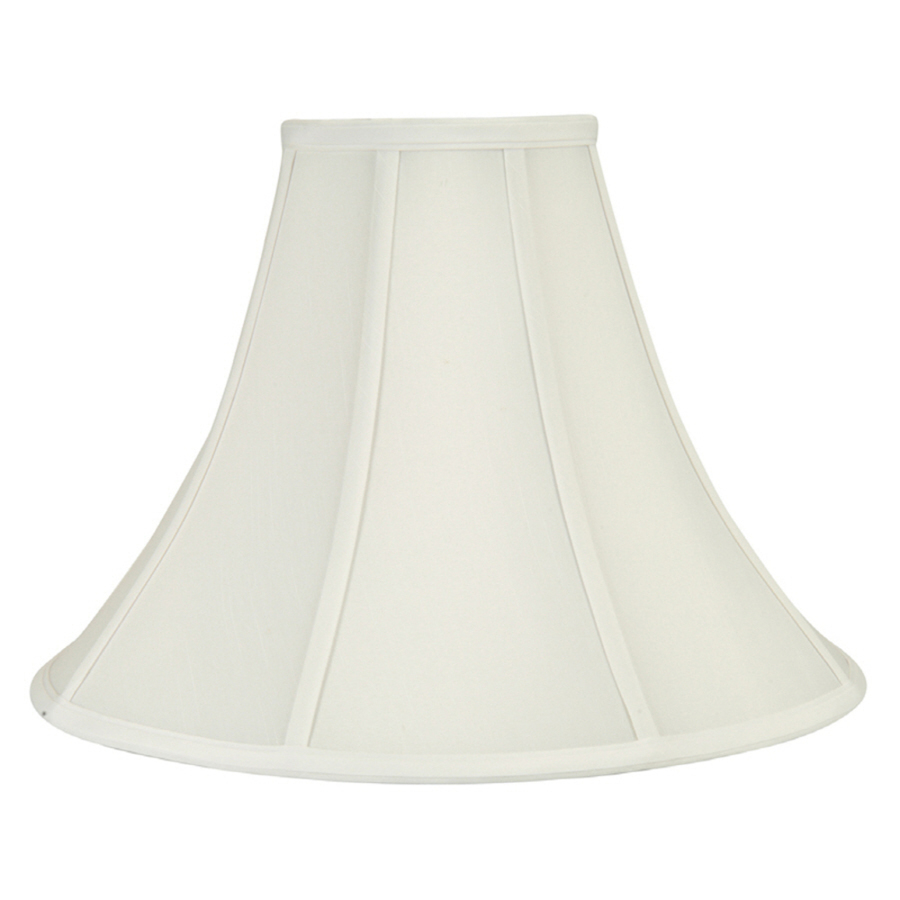 Shop Portfolio 11-in X 16-in White Bell Lamp Shade At