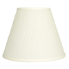 allen + roth 11-in x 14-in White Fabric Cone Lamp Shade
