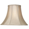 allen + roth 12.5-in x 17-in Tan Fabric Bell Lamp Shade