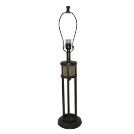 allen + roth 30-in Antique Bronze Lamp Base