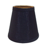 Portfolio 5-in x 5-1/4-in Black Chandelier Lamp Shade