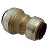 Blue Hawk 1/2-in x 3/8-in dia Reducing Coupling Push Fitting