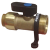 Blue Hawk 3/4-in x 1/2-in dia Hose Thread Push Fitting
