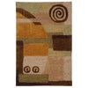 Safavieh 3-ft 6-in x 5-ft 6-in Beige Art Deco Area Rug