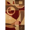 Safavieh 6-ft x 9-ft Beige Flowing Shapes Area Rug