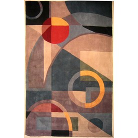 Safavieh Rodeo Drive Blue and Multicolor Rectangular Indoor Tufted Area Rug (Common: 6 x 9; Actual: 72-in W x 108-in L x 0.67-ft Dia)