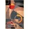 Safavieh 6-ft x 9-ft Blue Flowing Shapes Area Rug