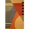 Safavieh Rodeo Drive Gold Rectangular Indoor Tufted Area Rug (Common: 8 x 11; Actual: 96-in W x 132-in L x 0.75-ft Dia)