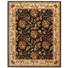 Safavieh Chelsea 7-ft 6-in x 9-ft 9-in Rectangular Black Transitional Area Rug