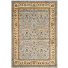 Safavieh Kashan Light Blue and Ivory Rectangular Indoor Machine-Made Area Rug (Common: 5 x 8; Actual: 63-in W x 90-in L x 0.33-ft Dia)