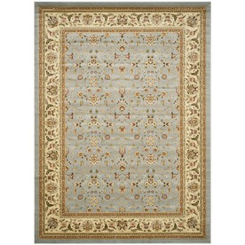 Safavieh 8-ft x 11-ft Blue Kashan Area Rug