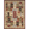 Safavieh Lyndhurst Multicolor and Ivory Rectangular Indoor Machine-Made Area Rug (Common: 8 x 11; Actual: 96-in W x 132-in L x 0.58-ft Dia)