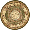 Safavieh Lyndhurst 8-ft x 8-ft Round Green Transitional Area Rug
