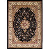 Safavieh Lyndhurst 8-ft x 11-ft Rectangular Black Transitional Area Rug