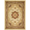 Safavieh Lyndhurst 5-ft 3-in x 7-ft 6-in Rectangular Beige Floral Area Rug