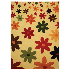 Safavieh Porcello Assorted Rectangular Indoor Machine-Made Area Rug (Common: 8 x 10; Actual: 96-in W x 134-in L x 0.92-ft Dia)