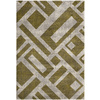Safavieh Porcello 79-in x 114-in Rectangular Green Geometric Area Rug