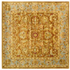 Safavieh Heritage 6-ft x 6-ft Square Tan Transitional Area Rug