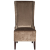 Safavieh Mercer Dark Champaign Accent Chair