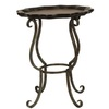Safavieh American Home Iron/Cherry Top Cherry Round End Table