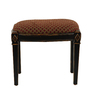 Safavieh American Home Black 18-in Small Stool