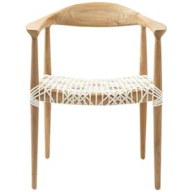 Safavieh Fox Light Oak Accent Chair