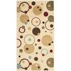 Safavieh Porcello Ivory and Multicolor Rectangular Indoor Machine-Made Area Rug (Common: 4 x 6; Actual: 48-in W x 67-in L x 0.42-ft Dia)