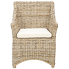 Safavieh Fox Brown White Washed Accent Chair