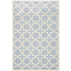 Safavieh Cambridge 4-ft x 6-ft Rectangular Blue Geometric Area Rug
