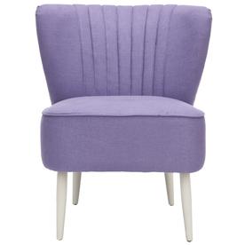 Safavieh Mercer Purple Accent Chair