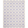 Safavieh Cambridge 8-ft x 10-ft Rectangular Purple Geometric Area Rug